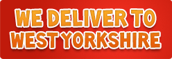 We Deliver to West Yorkshire